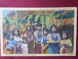 PANAMA / FAMILY GROUP OF INDIANS - ETHNIC - Panama