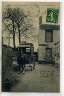 85 BEAUVOIR Sur MER  Carte RARE - 14 Gloria - Le Départ Du Courrier Bureau De Poste Postière CROUSTILLANT DOS /D12-S2018 - Beauvoir Sur Mer