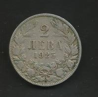 BULGARIA - 2 LEVA (1925) BORIS III - Bulgaria
