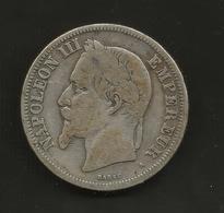 FRANCE - 2 FRANCS (1869 - A) NAPOLEON III - I. 2 Franchi