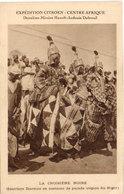 """Expédition """"Citroen"""" La Croisière Noire - Guerriers Djermas En Costume De Parade (Région Du Niger)   (104779) - Centrafricaine (République)"""