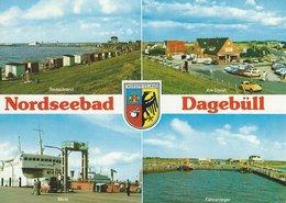 Nordseebad Dagebüll. Views  Germany   # 07450 - Germany