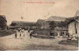 55 CHAUVENCY-St-HUBERT  La Rue De L'Eglise - Other Municipalities