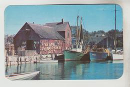 2 CPSM ROCKPORT (Etats Unis-Massassuchets) - Cove, This Old Fishermen's Building - Other