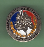 POLICE *** FORMATION MOTOCYCLISTE URBAINE - DISTRICT DE LENS *** 0009 - Police