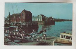 2 CPSM ROCKPORT (Etats Unis-Massassuchets) - Fisherman's Shack, Bearskin Neck - Other