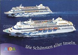 72525120 Schiffe Ships Navires AIDA  Schiffe - Non Classificati