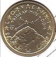 50 CENT   2008 SLOVENIE BU SORTI DU COFFRET BU ET SCELLE    PIECE (UNC ) NEUVE - Slovénie