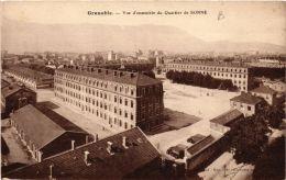 CPA Grenoble Vue D'ensemble Du Quartier De Bonne (685547) - Grenoble