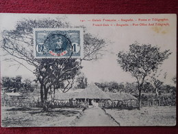 GUYANA - FRENCH GUINEA / SOUGUÉLA - POST OFFICE AND TELEGRAPH / 1910 - Postcards