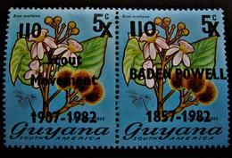 B2402 - Guyana - 1982 - Mich. 751-752  - MNH - Guyana (1966-...)