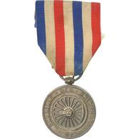 France, Médaille Des Cheminots, Médaille, 1946, Très Bon état, Favre-Bertin - Militari