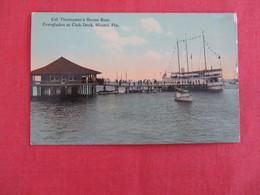 Col. Thompson's House Boat   Florida > Miami   -ref 2930 - Miami