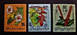 B2414 - Guyana - 1984 - Mich. 1084-1085-1086 - MNH - Guyana (1966-...)