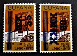 B2416 - Guyana - 1984 - Mich. 1134-1135 - MNH - Guyana (1966-...)