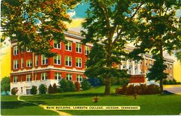 Cpsm JACKSON - TENNESSEE - MAIN BUILDING - LAMBUTH COLLEGE - Etats-Unis
