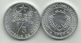 Mauritania 1/5 Ouguiya 1973. UNC - Mauritanie