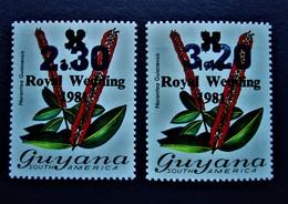 B2427 - Guyana - 1983 - Mich. 983-984 - MNH - Guyana (1966-...)