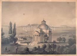 Cca 1860 Ludwig Rohbock (1820-1883) - Johann Poppel (1807-1882): Balatonfüred. Pest, Lauffer és Stolp, Acélmetszet, Jelz - Engravings