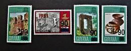 B2430 - Guyana - 1983 - Mich. 899-901-902-900 - MNH - Guyana (1966-...)