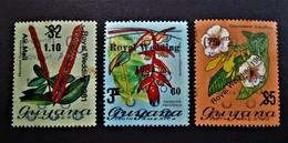 B2440 - Guyana - 1981 - Mich. 677-678-679 - MNH - Guyana (1966-...)