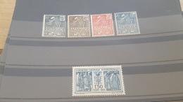 LOT 395366 TIMBRE DE FRANCE NEUF** N°270 A 274 VALEUR 145 EUROS  DEPART A 1€ - Caisse D'Amortissement