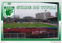 FOOTBALL STADE  DU  TIVOLI   LA LOUVIERE  BELGIQUE - La Louvière