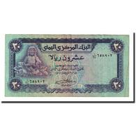 Billet, Yemen Arab Republic, 20 Rials, Undated (1985), KM:19b, TTB+ - Yémen