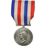 France, Honneur Des Chemins De Fer, Médaille, 1986, Très Bon état, Guiraud - Army & War
