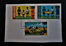 B2458 - Guyana - 1985 - Mich. 1406-1407-1408 - MNH - Guyana (1966-...)