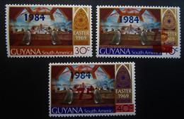 B2462 - Guyana - 1982 - Mich. 767-768-765 - MNH - Guyana (1966-...)