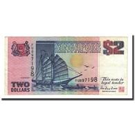 Billet, Singapour, 2 Dollars, Undated (1992), KM:28, TTB+ - Singapour