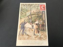 596 - Le Chevalier BAUDRICOURT De VAUCOULEURS Cède Le Commandement à JEANNE D'ARC Que Craignez Vous... - Saints