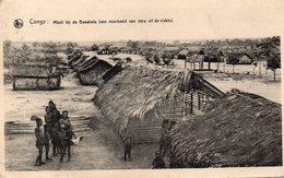 Congo - Mbuli Bij De Basakata (een Voorbeeld Van Dorp Uit De Vlakte)- 1927 - Congo Belga - Altri