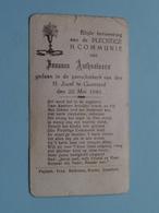 Joannes ANTHONISSEN Op 22 Mei 1949 - H. Jozef Te GOOREIND ( Zie/voir Photo ) ! - Communion