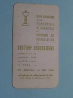 Gustaaf BRAECKMANS Op 14 Mei 1944 - O.L.Vrouw Te NIEL ( Zie/voir Photo ) ! - Communion