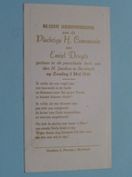 Emiel DRUYTS Op 2 Mei 1948 - H. Jacobus Te BORSBEEK ( Zie/voir Photo ) ! - Communion