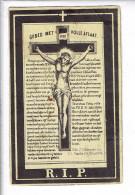 Dp 3486 LAMBERT VANORMELINGEN - BORGLOON 1842 + 1892 - Images Religieuses