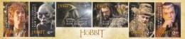 New Zealand 2012 The Hobbit Self-adhesive Strip MNH - New Zealand