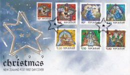 New Zealand 1999 Christmas FDC - FDC