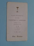 Rita HORIONS Op 14 Mei 1950 - H. Martinus Te KONTICH ( Zie/voir Photo ) ! - Communion