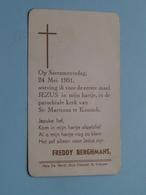 Freddy BERGHMANS Op 24 Mei 1951 - St. Martinus Te KONTICH ( Zie/voir Photo ) ! - Communion