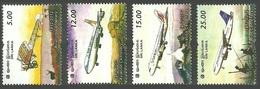 SRI LANKA 2012 AIRCRAFT CENTENARY OF AVIATION MONOPLANE AIRLINER SET MNH - Sri Lanka (Ceylon) (1948-...)