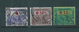 Colonie Timbres De Tunisie  De 1915/16  N°49/50 + N°52  Oblitérés - Tunisia (1888-1955)
