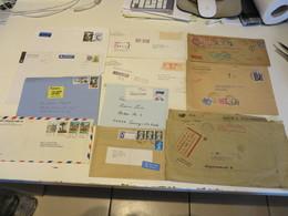 WELTWEIT  Posten  Verschiedene  BELEGE  Und  POSTKARTEN  Ca. 2,780 Kg. - Stamps