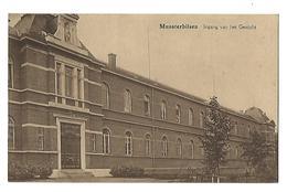 Munsterbilzen Institut St Joseph -  Ingang Van Het Gesticht - Bilzen