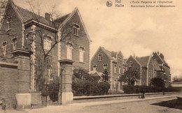 Hal / Halle - Middelbare School En Weezenhuis - 1920 - Halle
