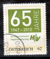 """Österreich 2003:  """"Personalisierte Marke""""AHagelvericherung"""" Gestempelt (siehe Foto) - Österreich"""