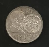 Czechoslovakia - 100 KORUN ( 1972 ) Josef V. Myslbek / Tschechoslowakei - Czechoslovakia