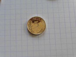 1995 5 Centimes Belle épreuve BE B-E Proof . Coffret Marianne Lagriffoul - C. 5 Centimes